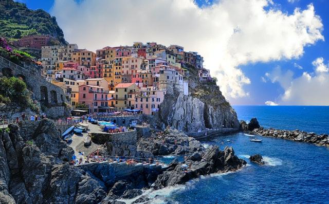 Assorted colour houses - Levanto, Italy - Frans Van Heerden (Pexels.com)